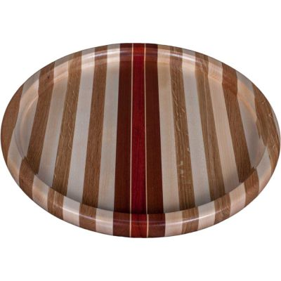 Laminated Wood Puzzle Trivet Lazy Susan