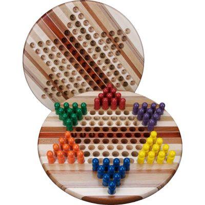 Wood Chinese Checkers