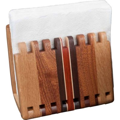 Adjustable Wood Napkin Holder
