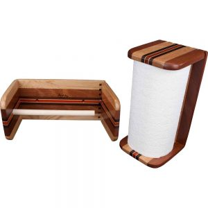 Wood Paper Towel Holders
