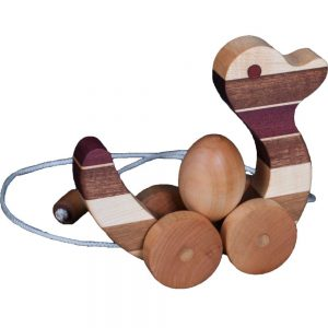 Wood Toy Pull Duck