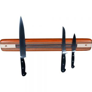 Wood Wall Mount Magnetic Knife Rack