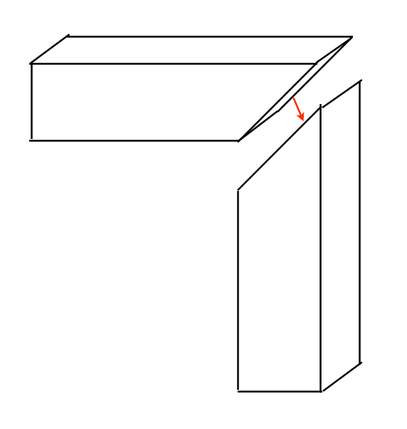 Woodworking Miter Joint