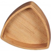 Iroko Wood Trivet Bowl