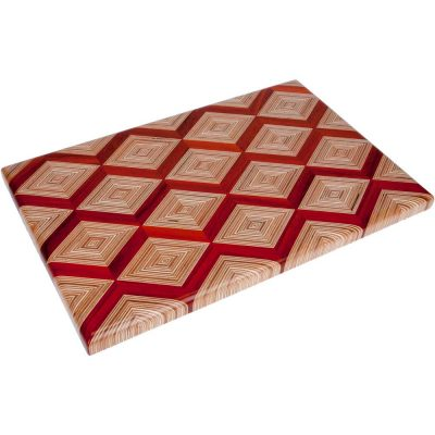 Diamond Wood Cutting Board