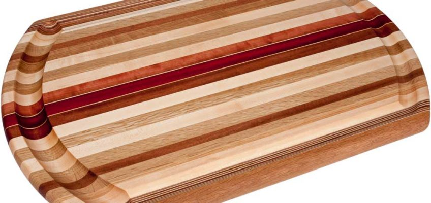Large Laminated Wood Meat Cutting Board