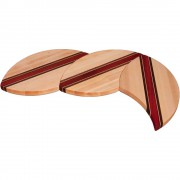 Maple Wood Puzzle Trivets L Shape