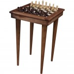 Wood Chess Table