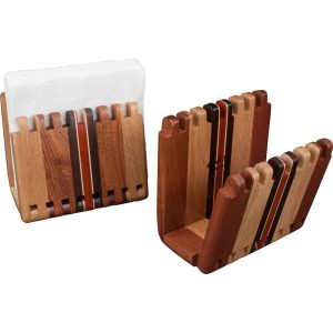 Adjustable Wood Napkin Holders