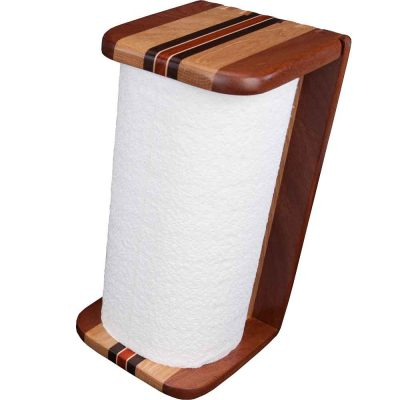 Wood Paper Towel Holder