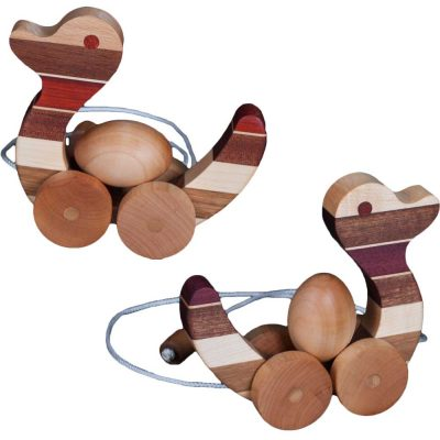 Wood Toy Pull Ducks