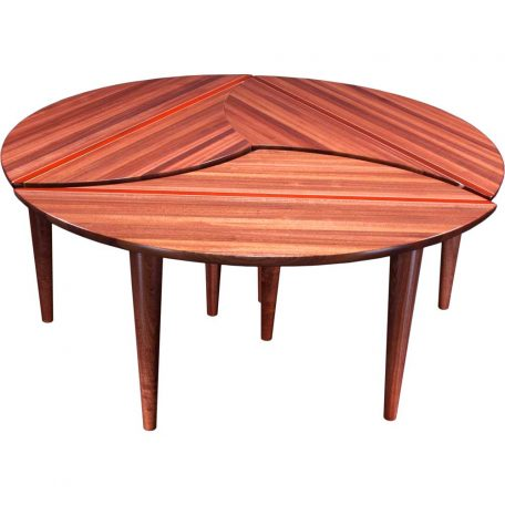 Wood Puzzle Coffee Table